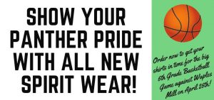 Order Your OES Spirit Wear NOW through March 22